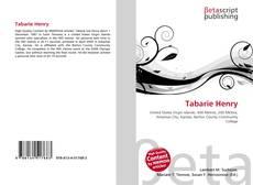 Portada del libro de Tabarie Henry