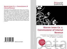 Buchcover von Warren Jones Co. v. Commissioner of Internal Revenue