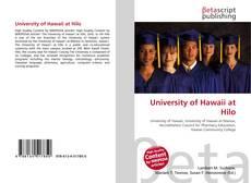 University of Hawaii at Hilo kitap kapağı