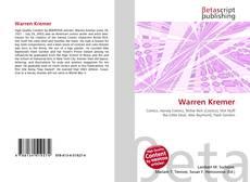 Bookcover of Warren Kremer