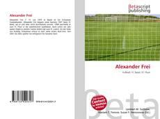 Capa do livro de Alexander Frei