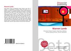 Bookcover of Warren Lamb