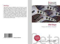 Bookcover of Old Days