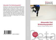 Capa do livro de Alexander Frei (Eishockeyspieler)