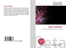 Bookcover of Rana Vaillanti