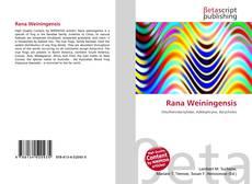 Bookcover of Rana Weiningensis