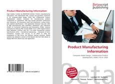 Product Manufacturing Information kitap kapağı