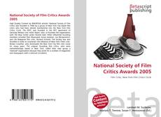 National Society of Film Critics Awards 2005 kitap kapağı