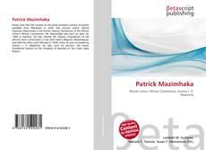 Capa do livro de Patrick Mazimhaka