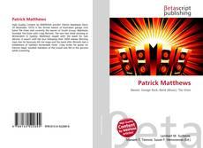 Bookcover of Patrick Matthews