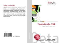 Toyota Corolla (E30) kitap kapağı