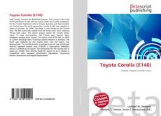 Buchcover von Toyota Corolla (E140)