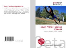 Bookcover of Saudi Premier League 2000–01