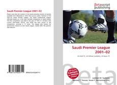 Saudi Premier League 2001–02的封面