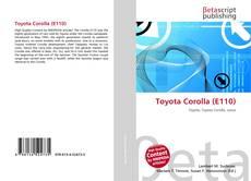 Toyota Corolla (E110) kitap kapağı