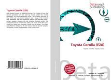 Portada del libro de Toyota Corolla (E20)