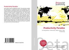 Обложка Productivity Paradox