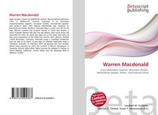 Bookcover of Warren Macdonald
