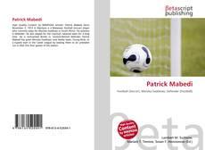 Capa do livro de Patrick Mabedi