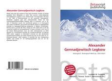 Capa do livro de Alexander Gennadjewitsch Legkow