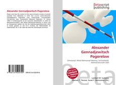 Buchcover von Alexander Gennadjewitsch Pogorelow