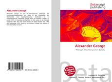 Bookcover of Alexander George