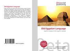 Обложка Old Egyptian Language