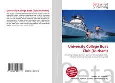 Capa do livro de University College Boat Club (Durham)