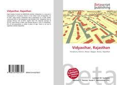 Bookcover of Vidyavihar, Rajasthan