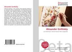 Bookcover of Alexander Gnilitskiy