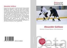 Capa do livro de Alexander Golikow
