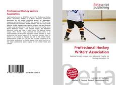 Couverture de Professional Hockey Writers' Association