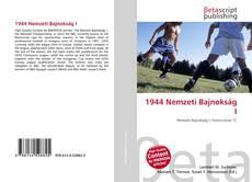 Buchcover von 1944 Nemzeti Bajnokság I
