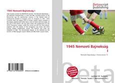 Buchcover von 1945 Nemzeti Bajnokság I