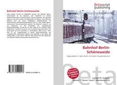 Buchcover von Bahnhof Berlin-Schöneweide