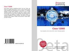 Bookcover of Cisco 12000