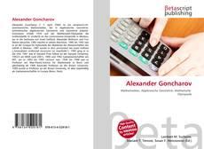 Alexander Goncharov kitap kapağı