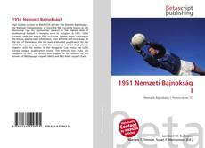 Buchcover von 1951 Nemzeti Bajnokság I