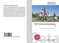Buchcover von 1957 Nemzeti Bajnokság I