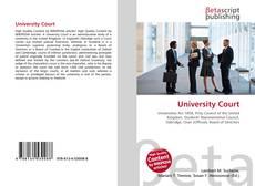 Copertina di University Court