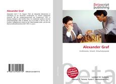 Bookcover of Alexander Graf