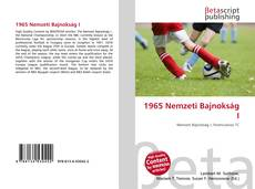 Buchcover von 1965 Nemzeti Bajnokság I