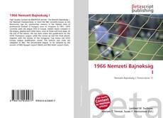 Buchcover von 1966 Nemzeti Bajnokság I