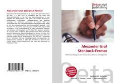 Обложка Alexander Graf Stenbock-Fermor