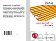 Buchcover von Alexander Graf von Schönburg