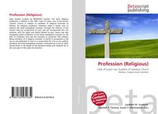 Bookcover of Profession (Religious)