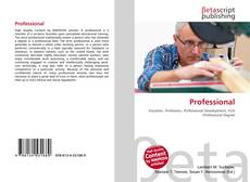 Bookcover of Professional