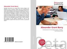 Bookcover of Alexander Grant Barry