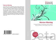 Bookcover of Warren Montag