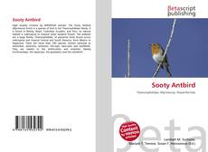 Bookcover of Sooty Antbird